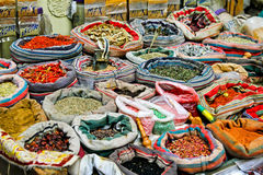 Market spices Stock Images