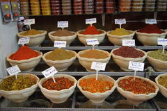 Market Spices Stock Image