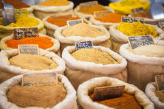 Market spices Provence France. Spices on a market in Provence, France Stock Image