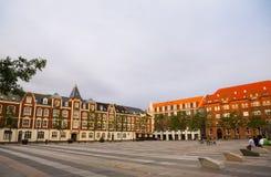 Market Square (Axeltorv) in Fredericia, Denmark Royalty Free Stock Image