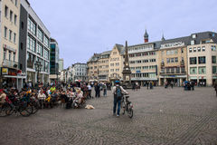 Market Square in Bonn Stock Photography