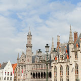 Market square, Bruges, Belgium Stock Photography
