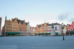 Market Square, Bruges Stock Image