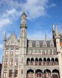 Market square of Brugge in Belgium Royalty Free Stock Photos