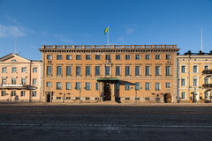 Market Square Buildings in Helsinki Stock Photography