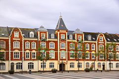 Market Square in Fredericia city, Denmark Stock Photography