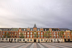 Market Square in Fredericia city, Denmark Stock Images