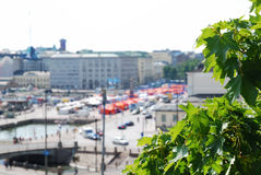 Market square of Helsinki Royalty Free Stock Photography