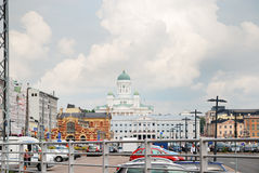 The Market square in Helsinki Royalty Free Stock Image