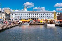 Market Square. Helsinki, Finland Royalty Free Stock Images