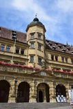 Market Square with the historic Renaissance Town hall, Germany Stock Photos