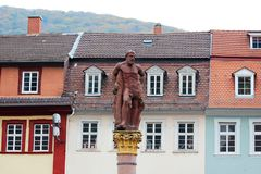 Free Market Square In Heidelberg, Germany Stock Photography - 144650352
