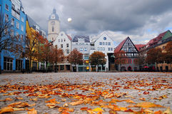 Market Square in Jena, Thuringia, Germany Royalty Free Stock Photography