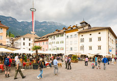 Market square of Kaltern Royalty Free Stock Photography