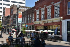 Market Square in Knoxville, Tennessee royalty free stock photos