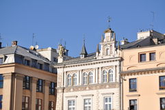 The market square in krakov Stock Photos