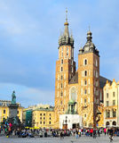 Market Square in Krakow Royalty Free Stock Photos