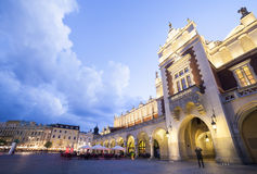 Market square in Krakow, Poland Stock Photo