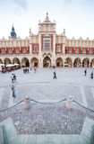Market square in Krakow, Poland Royalty Free Stock Images