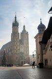 Market square of Krakow, Poland, Europe Royalty Free Stock Images