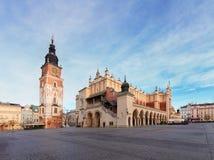 Market square in Krakow, Poland Stock Photos