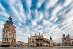 Market Square Krakow Stock Images