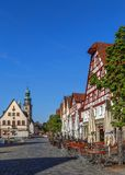 Market square, Lauf an der Pegnitz, Germany Stock Images