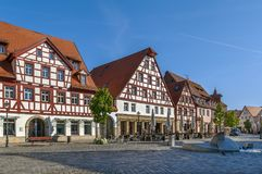 Market square, Lauf an der Pegnitz, Germany Royalty Free Stock Images
