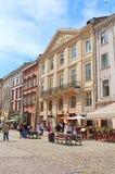 Market square, Lviv, Ukraine stock photos
