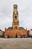 Belfort (Belfry) of Bruges, Belgium Royalty Free Stock Photos