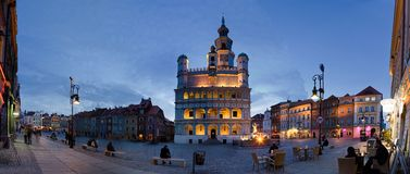 The Market Square in Poznan Stock Photos