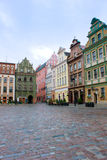 Market square of Poznan, Poland Stock Photography