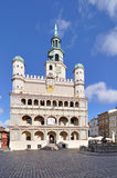 Market square, Poznan, Poland Royalty Free Stock Images