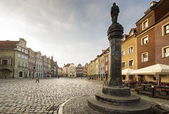 Market square, Poznan Stock Image