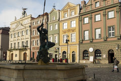 Market square, Poznan Stock Photo