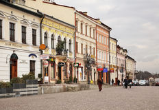 Market square in Rzeszow. Poland Stock Image