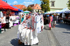 Market Square in Sibiu, European Capital of Culture for the year 2007 Stock Image