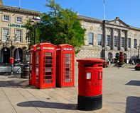 Market Square, Stafford. Stock Photography