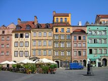 Market Square, Warsaw Royalty Free Stock Photo