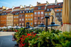 Market square in Warsaw Stock Photos