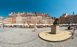 Market square in Warsaw, Poland, Europe. Royalty Free Stock Photography