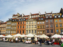 Market Square in Warsaw. Royalty Free Stock Photos