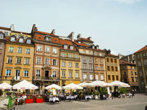 Market Square in Warsaw. Royalty Free Stock Images