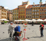 Market Square in Warsaw. Stock Photos