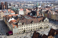 Market Square in Wroclaw Stock Photography