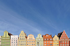 Market square, Wroclaw, Poland royalty free stock image