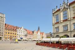 Market square, Wroclaw, Poland Royalty Free Stock Photo
