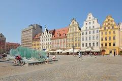 Market square, Wroclaw, Poland Stock Photo