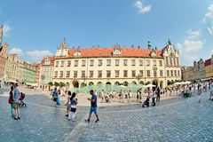 Market square, Wroclaw, Poland Stock Image