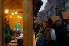 Market Square in Wroclaw Stock Photo